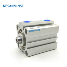 NBSANMINSE SDA With Magnet Bore 40mm Compact Cylinder AirTAC Type Double Acting Cylinder Pneumatic  Cylinder