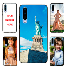 HuaweiP30 case Custom Personalized Make your Photo pattern images Hard Body Soft Side Phone Case Cover