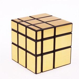 Image 2 - 3x3x3 Magic Mirror Cubes Cast Coated Puzzle  Professional Speed Magic Cube  Magic Education Toys For Children