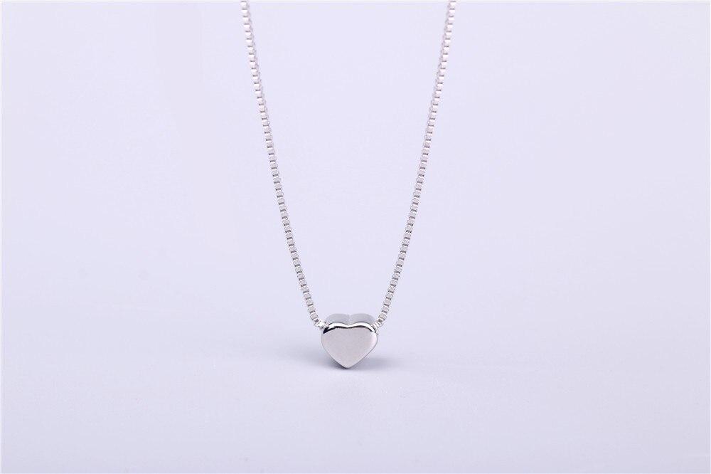 aeProduct.getSubject()  AAA 100% Silver 925 Necklace Shiny Coronary heart Necklace Sterling Silver Necklaces & Pendants FREE SHIPPING HTB18ffAKVXXXXXtXVXXq6xXFXXXG