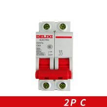 Miniature Circuit breaker Air switch  DZ47S DELIXI MCB 2Pole