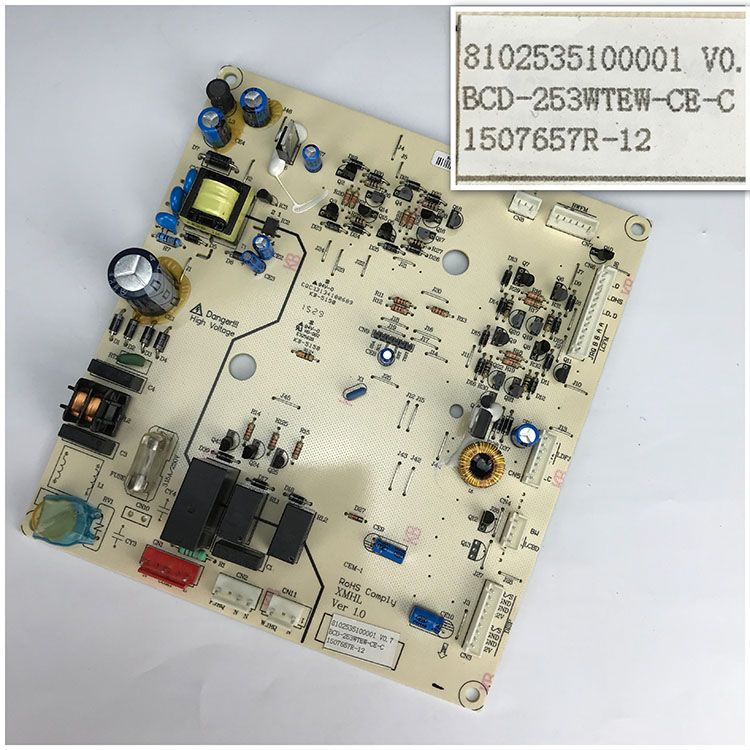 8102535100001 V0.7 For BCD-253WTEW-CE-C 1507657R-12 Good Working Tested