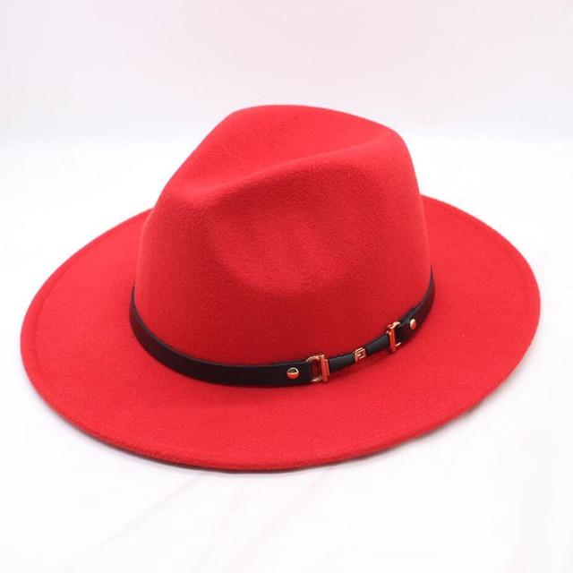 red Womens fedora 5c64fe1e6999f