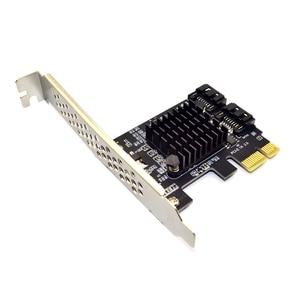 Image 4 - PCI E SATA 1X 4X 8X 16X การ์ด PCI E PCI Express ไปยัง SATA 3.0 2 Port SATA III 6Gbps อะแดปเตอร์ขยายบอร์ด Marvel 9125 ชิป