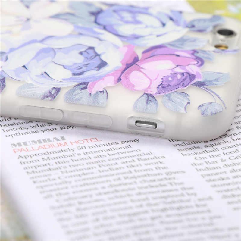 خزائن هاتف آيفون 7 6 6S 8 Plus X حافظة ريترو جيرلي لينة سيليكون غطاء آيفون 5 5s SE حافظة مضادة للخبط ماتي كوكه fundas