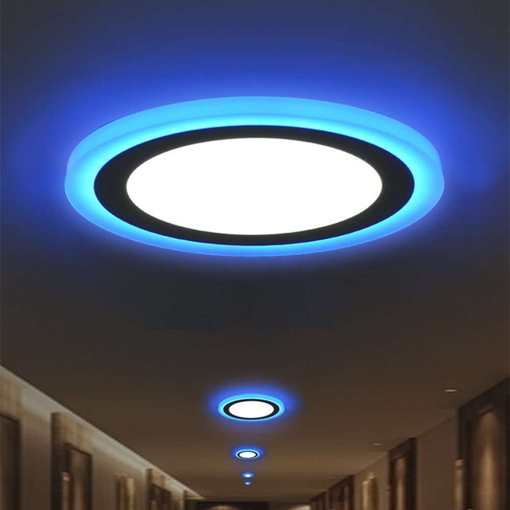 Dimmable LED Ceiling Lights Modern Ceiling Lamp Living Room Bedroom Kitchen 6W 9W 16W 2 Colors Recessed Ceiling Lightings