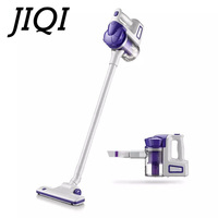 JIQI Low Noise Vacuum Cleaner Home Rod Aspirator Floor Sweeper Powerful Suction Portable Dust Collector Catcher Mini Mite Killer