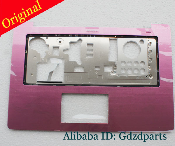 Origial New For Sony Vaio SVF15N SVF15N14CXS Palmrest Pink without touchpad 3GFI3TAN0B0
