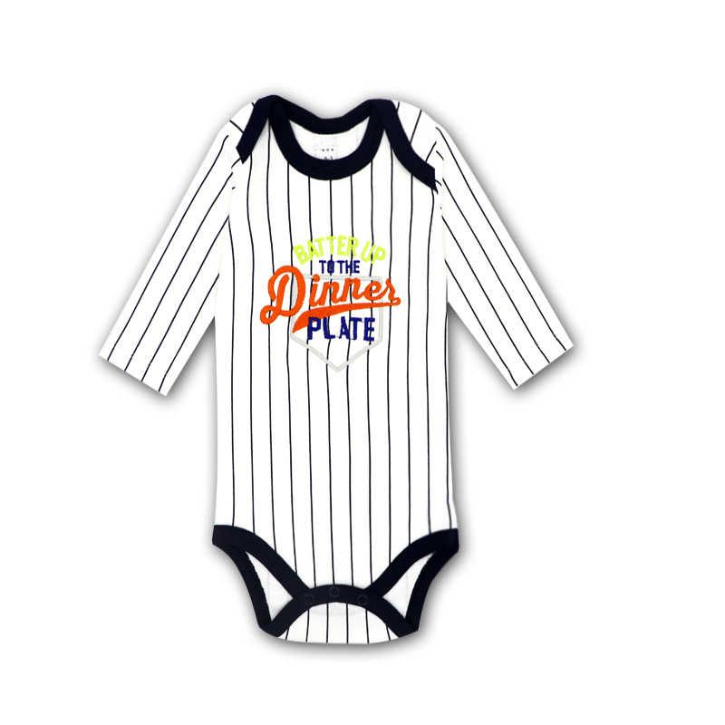 Bodysuits Katoenen Peuter Jongen Jumpsuit Pasgeboren Kleding Met Lange Mouwen Baby Winter Baby Bodysuit Set Ropa Kinderkleding