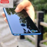 Huawei Honor 8 Lite Case Cover Glitter Thin Silicon For Huawei Honor8 Lite Case Original Yagoo
