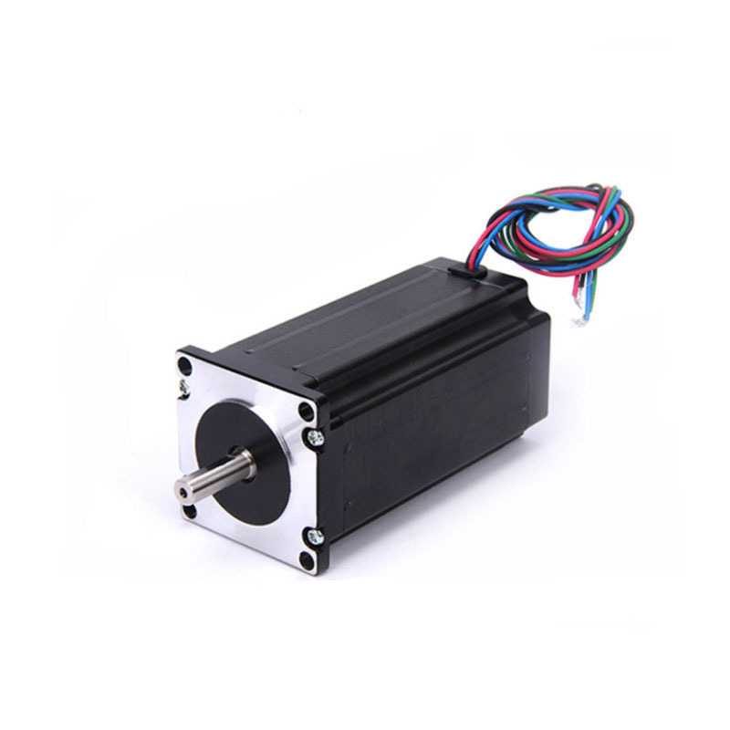 Best Sell! free shipping CNC Nema 23 Stepper Motor 57mmX112mm CE ROHS ISO 3D Printer Robot Foam Plastic Metal free shipping 3pcs nema 23 stepper motor dual shaft 57bygh 2 8a 100mm ce rohs iso embroidery 3d printer