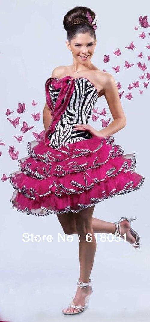 Lujo Vestidos De Dama De Honor De Debut Embellecimiento - Ideas de ...