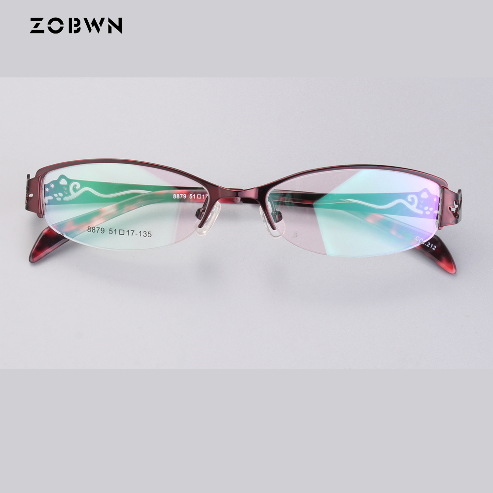 Pattern eyeglasses femininos Fashion Optical Glasses Frame Glasses With Clear Glass Men Women gafas Brand Women's Glasses Frames