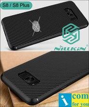 Nillkin синтетические волокна углерода крышка case для samsung galaxy s8 плюс ультра тонкий pc shell матовый матовый