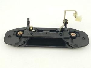 Image 2 - 4pcs מלא סט רכב קדמי אחורי חיצוני דלת ידית שחור עבור מיצובישי פאג רו מונטרו V31 V32 V33 V43 V46 v47