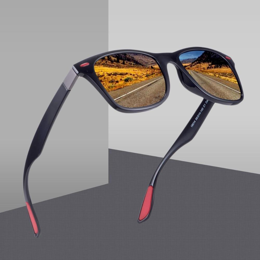 Driving Square Frame Sun Glasses