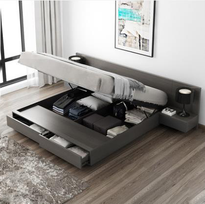 RAMA DYMASTY  Soft Bed Modern Design Bed Bett, Cama Fashion King/queen Size Bedroom Furniture