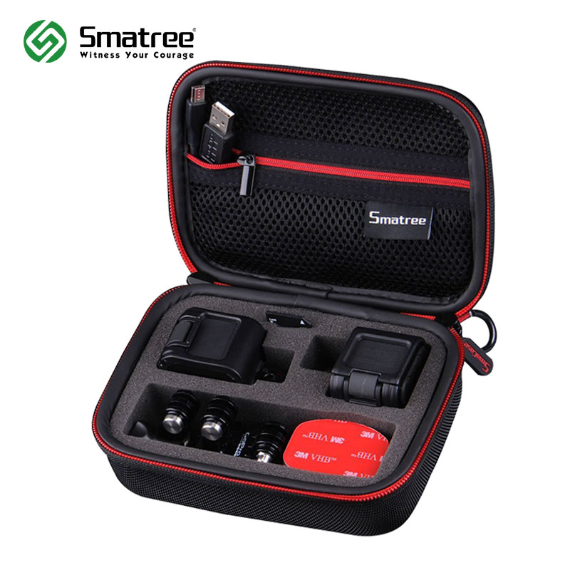 Smatree GS75 Shockproof Bag Protective Storage Case Travel Carrying Case for GoPro HERO 5/4 Session Waterproof Hardshell Handbag