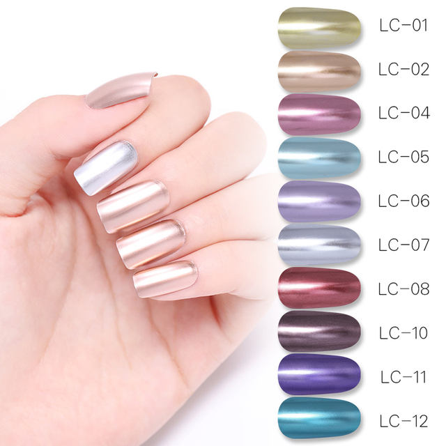 LILYCUTE Mirror Metallic UV Nail Gel