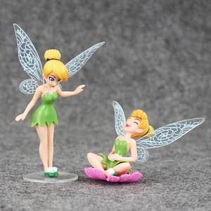 Image 5 - 4 Cái/lốc Hình Công Chúa Đồ Chơi Tinkerbell Cổ Tích Quốc Bộ Cho Trẻ Em Quà Tặng Sinh Nhật