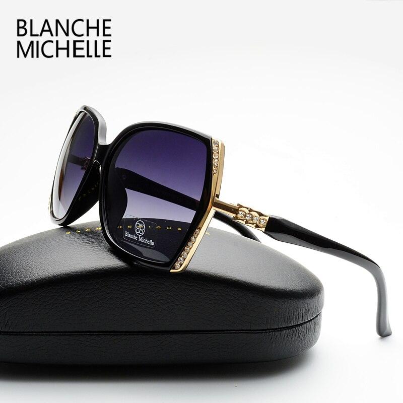2017 New High Quality Polarized Sunglasses Women Brand Designer UV400 Sunglass Gradient Lens Driving Sun Glasses