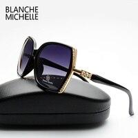 2016 New Fashion High Quality Polarized Sunglasses Women Brand Designer Gradient Lens Driving Sun Glasses UV400