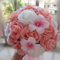 Romántico Gelin Buketi Calidad Superior Hecha A Mano Artificial Decorativo Flores Ramo de Novia Perlas Ramos de Novia