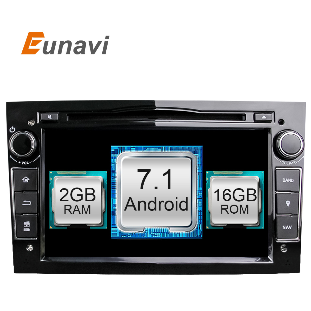 Quad Core Android 7 1 2 din Car DVD Stereo for Vauxhall Opel Astra H G
