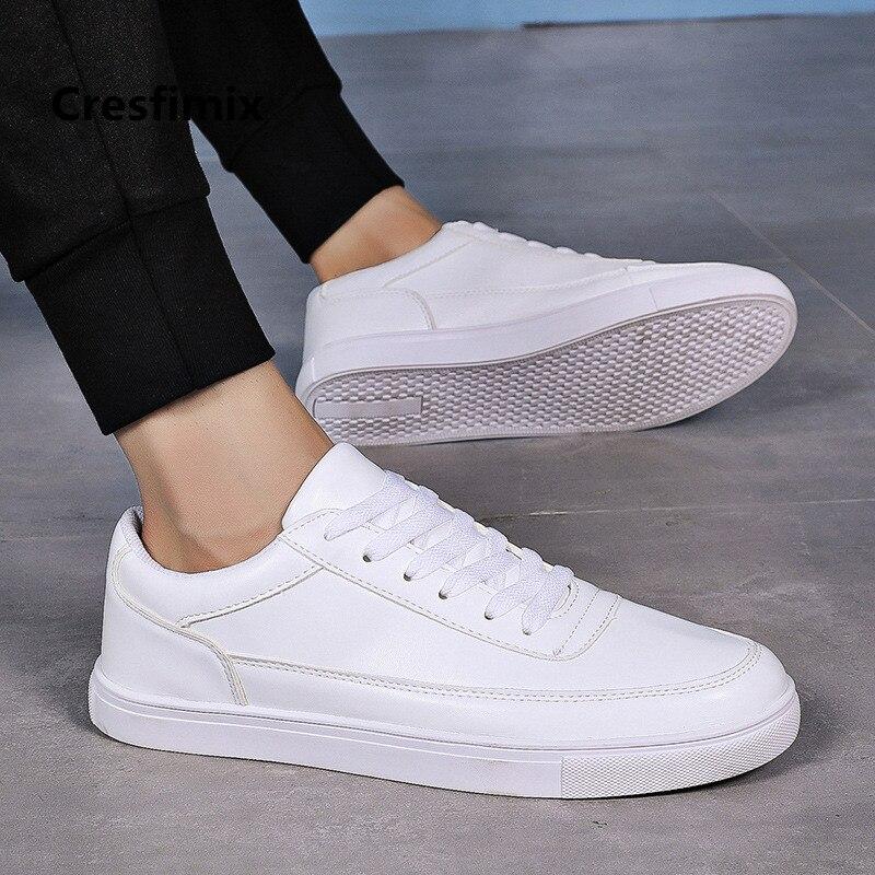 Masculina c Encaje Cool Zapatos A Hombre Pu Primavera b Hombres Cresfimix Moda Antideslizante Alta Calidad Negro Otoño C3093 gqHd4q