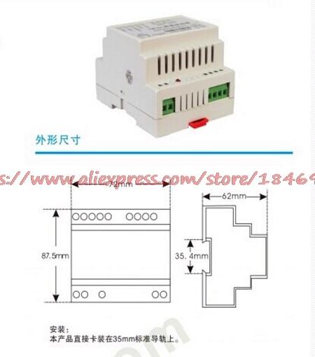 Free Shipping   Weighing Sensor Amplifier 4-20mA/ Sensor Transmitter 0-10V/ Weight Transmitter /0-5V