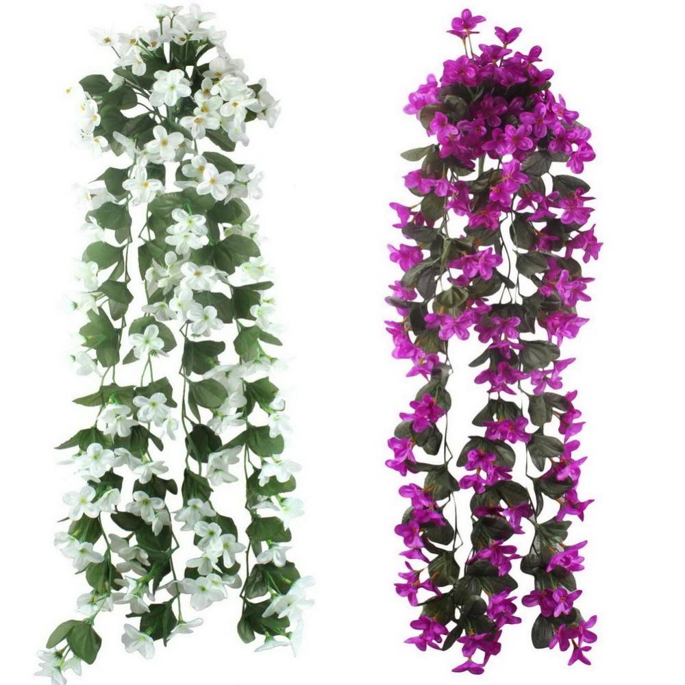acheter 5 pcs lot fleurs artificielles. Black Bedroom Furniture Sets. Home Design Ideas