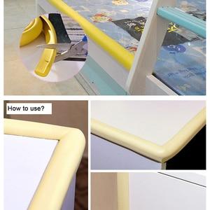 Image 2 - 5M Children Safety Desk Table Edge Corner Protector Strip Kids Rubber Protection Cushion Glass Edge Furniture Edge Guard Strip