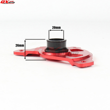 Motorcycle Front Brake Disc Rotor Guard Cover Protector For CR125 CR250 2004-2007 CRF250R CRF450R 2004-2016 2005 2006 2008 2009 цена и фото