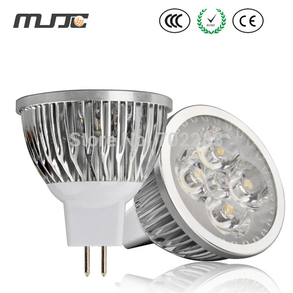 3-year Warranty GU10/E27/MR16 4*3W LED Light Bulb Lamp Cree Spotlight Downlight