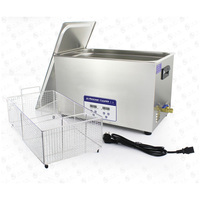080S 22L 1401W Ultrasonic Cleaner Heater Timer Bath Adjustable Industry Ultrasonic Cleaning Machine
