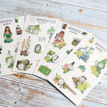 1 Pcs Cute time stamp Paper Sticker Decoration diy Diary Scrapbooking Label Stationery School Supply