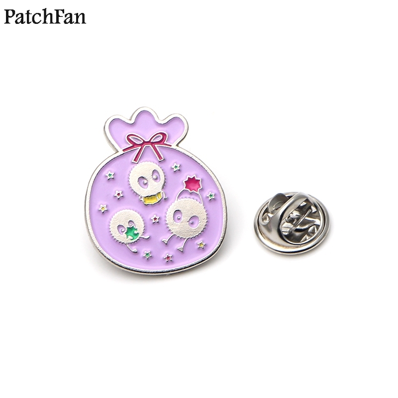 Trend Mark 20pcs/lot Patchfan Spirited Away Fairydust Zinc Tie Cartoon Pins Backpack Clothes Brooches For Men Women Hat Badges Medal A1789 Agreeable To Taste Arts,crafts & Sewing