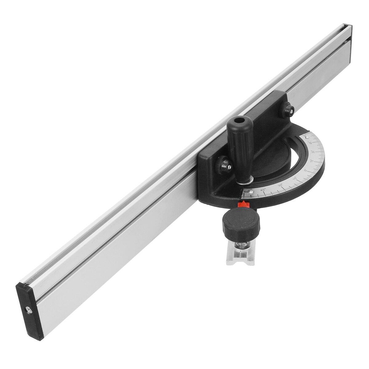 Ferramenta de trabalho de madeira do calibre da mitra do transferidor para a serra de fita serra de mesa roteador ângulo do calibre da mitra guia cerca peças máquinas para trabalhar madeira