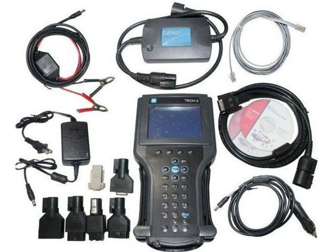 Tech2 strumento di diagnostica per G-M/SAAB/OPEL/SUZUKI/ISUZU/Holden gm tech 2 scanner in scatola di cartone