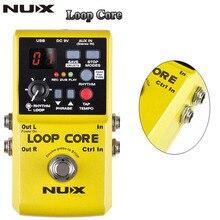 NUX Loop Core Violao Guitar Effect Pedal / Durable Guitarra Effect Pedal 6Hours Recording Time Guitar Accessories