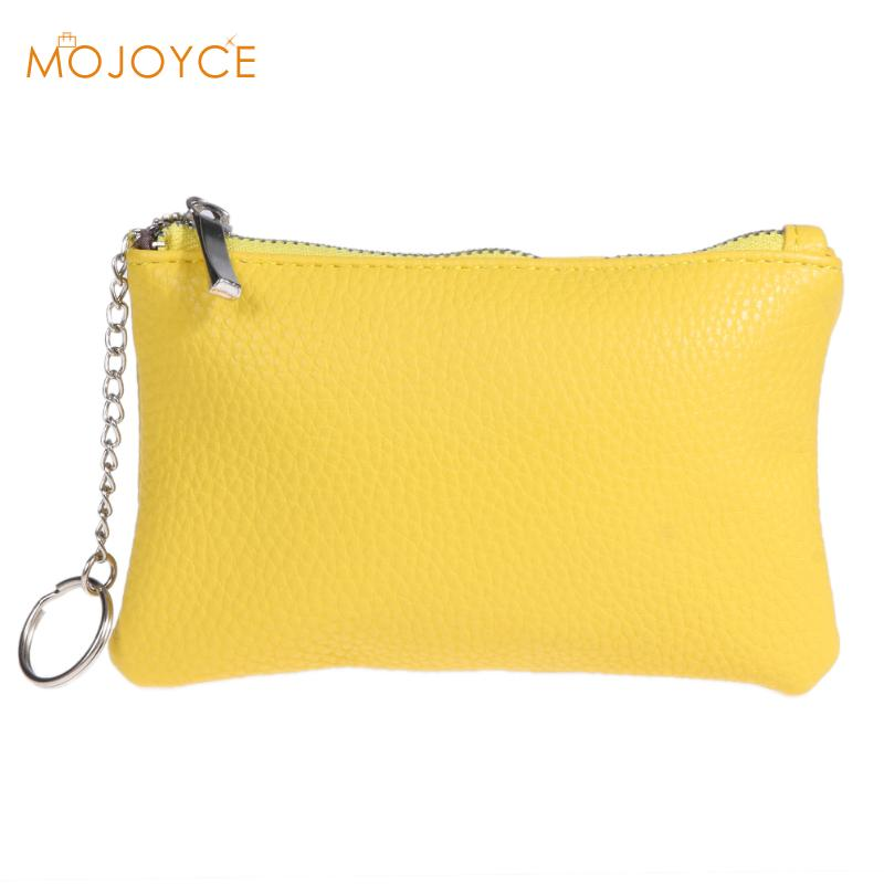 PU Leather Coin Purse Women Small Wallet Change Purses Money Bags Children's Pocket Wallets Key Holder Mini Zipper Pouch купить