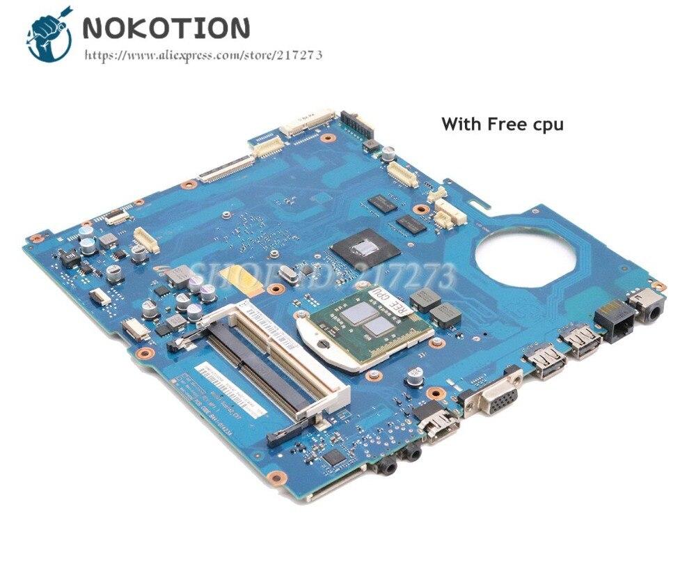 NOKOTION For Samsung RV511 NP-RV511 Laptop Motherboard HM55 DDR3 GT315M Video card BA92-07405A BA92-07405B BA41-01423A 15.6 Inch все цены