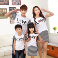 dresses	mother father baby	fashion	mother daughter matching clothes	cotton	mother daughter outfits	short sleeve	striped	3210