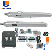 350kg  24VDC foresee electrical swing gate opener motor full kit with 4 remote switch alarm light  photocell keypad options