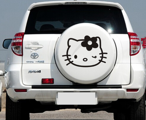 2015 Hot Sale Custom Hellokitty Kitten Pattern Car Spare Tire