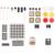 2016 Nuevo Starter Kit para Arduino uno R3 fundamentos Básicos AMPLIO kits de robots con Uno R3 mini