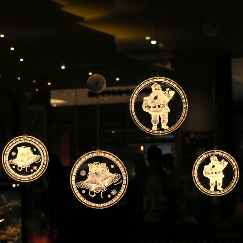 Christmas Ornaments LED Light Festival Christmas Party Decorations Pendant Hanging Art Decoration Household Decor Decor in Party DIY Decorations from Home Garden