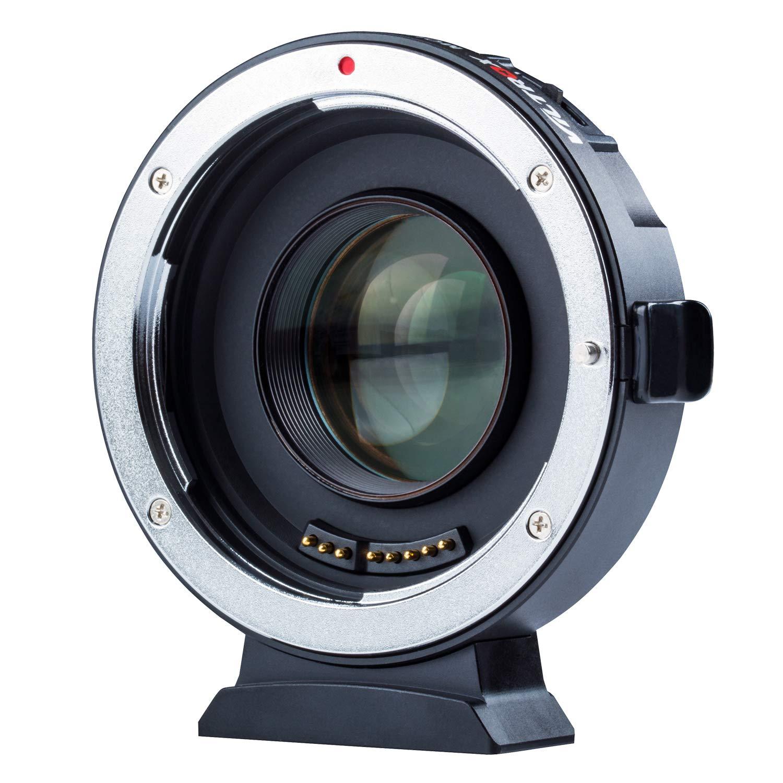 VILTROX EF-M2 Auto Focus 0.71x réducteur de vitesse Booster adaptateur de montage d'objectif pour Canon EF objectif à M4/3 caméra GH5 GH4 GX85 E-M10 GX8
