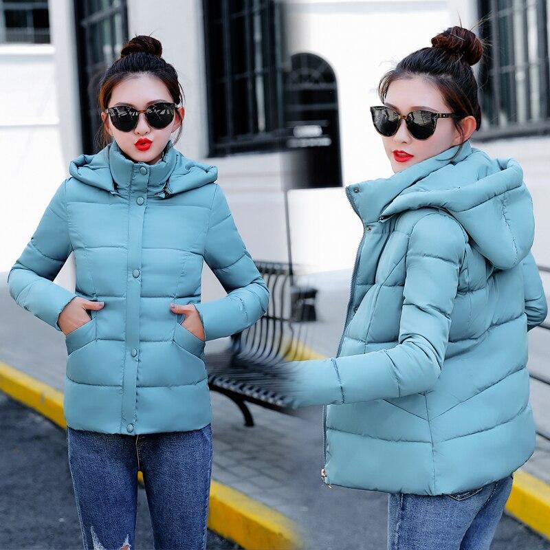 new   parka   women 2018 Winter Jacket Women Coats Hooded Coats Female   Parka   Thick Cotton Padded Lining Winter Female Coats