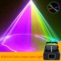 RGB мини сканирующий лазерный проектор светильник/DJ Дискотека вечерние музыка управление звуком лазер/Линейный луч эффект сценический свет...